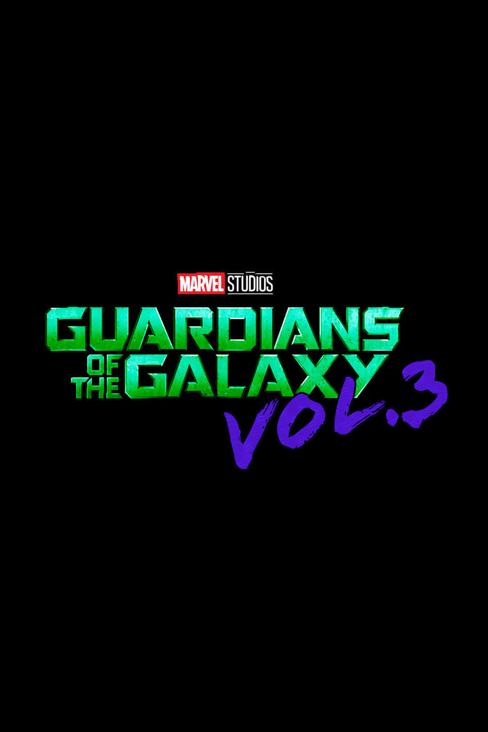 Guardians of the Galaxy Vol. 3 Title Card