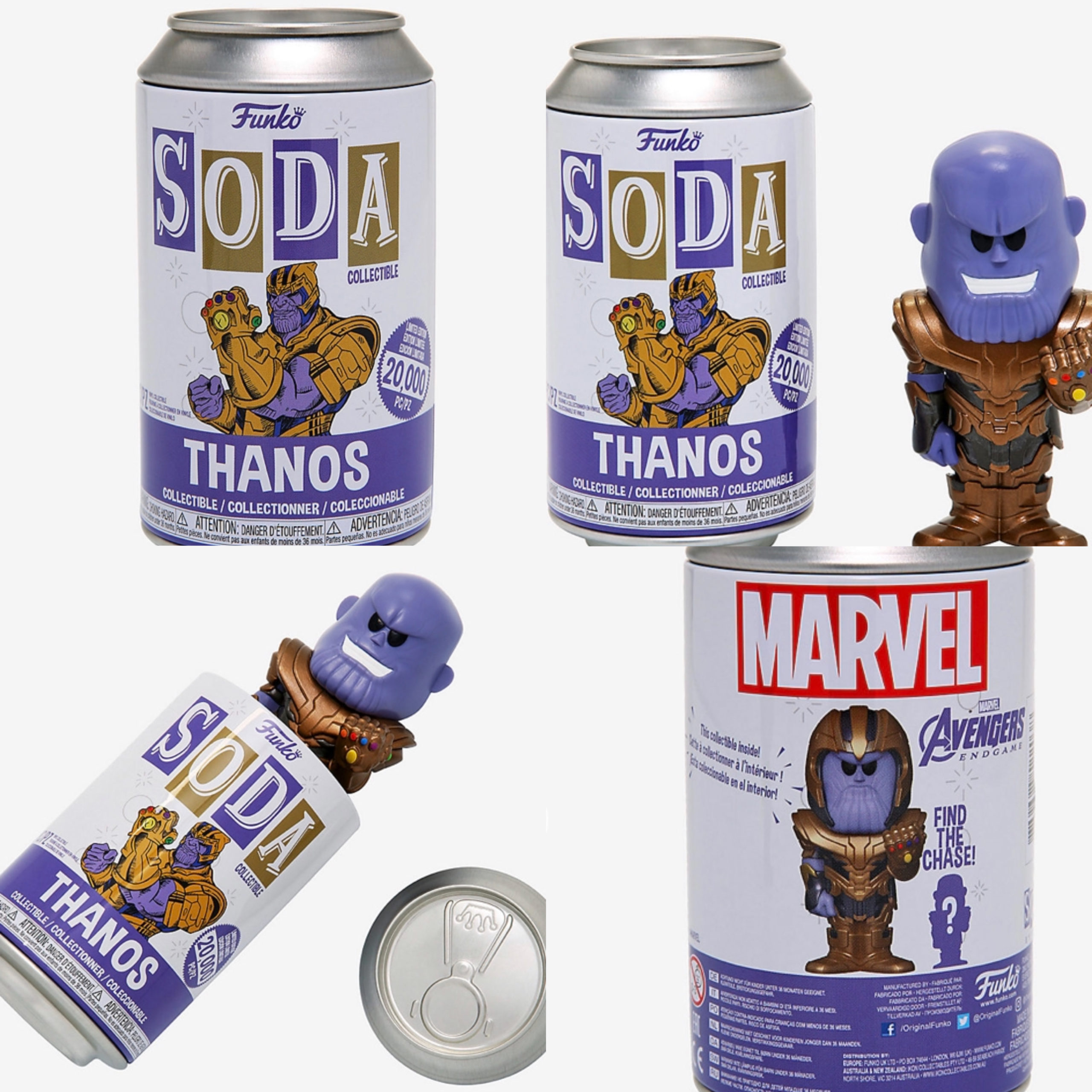 Hot Topic Thanos Soda