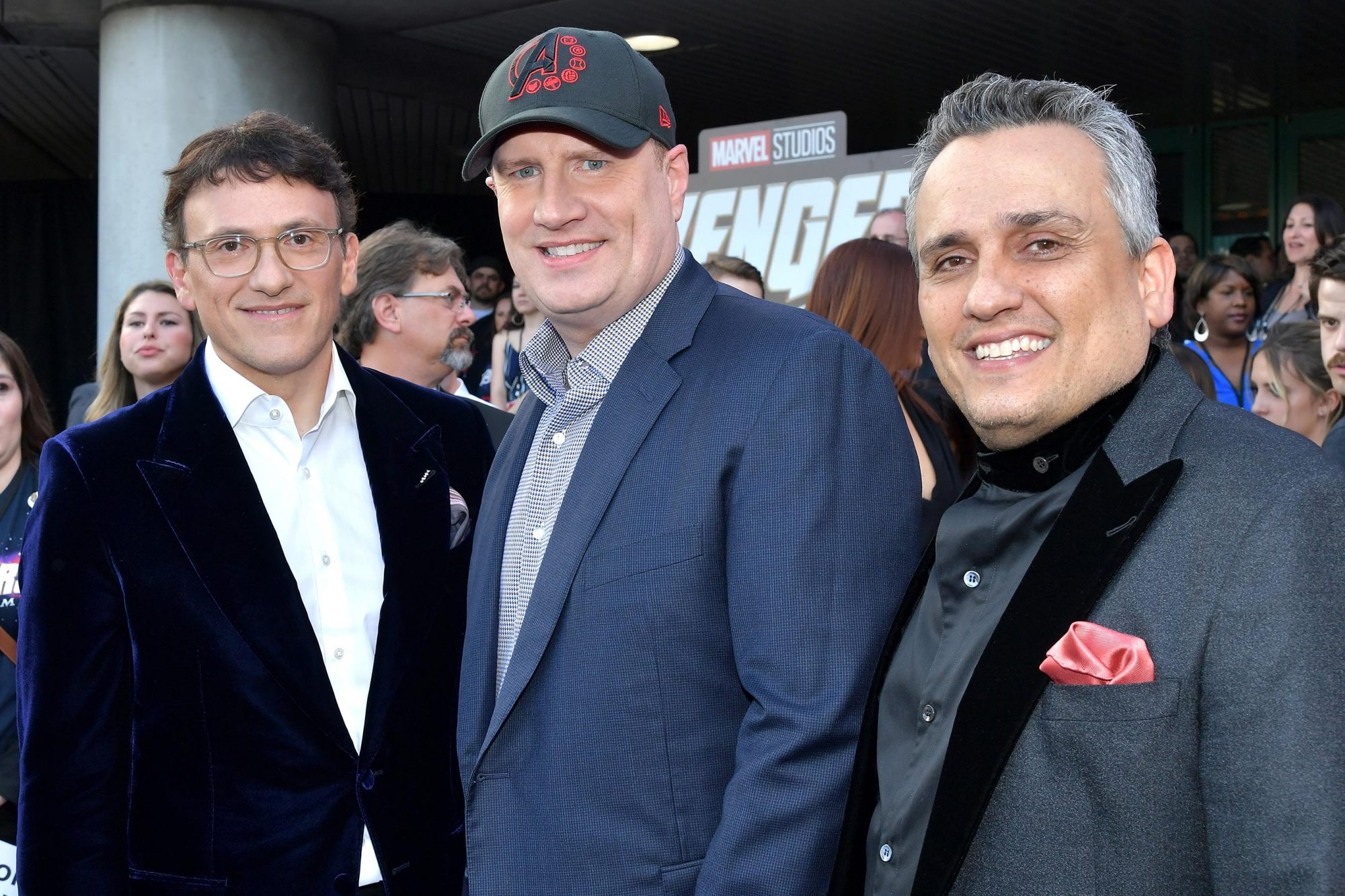 Kevin Feige and the Russo Brothers