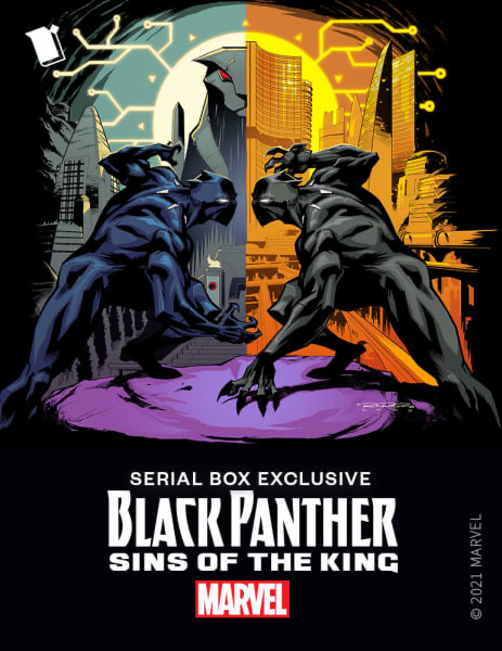 Serial Box Black Panther Sins of the King for Events Article