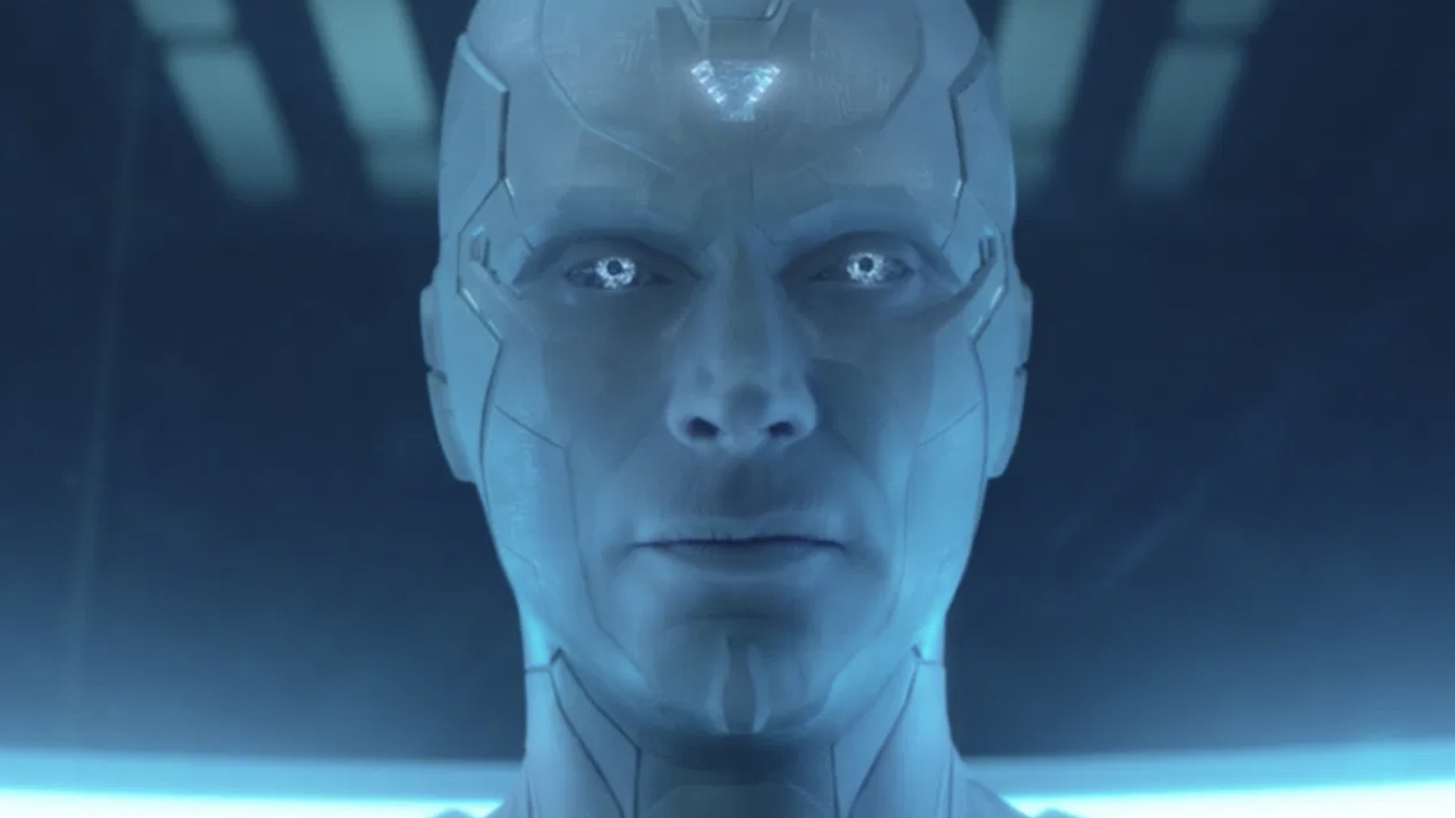 Paul Bettany as Silver Vision
