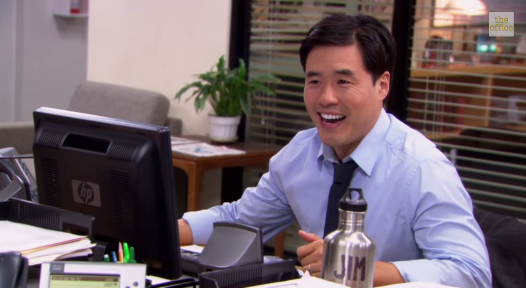 Randall Park as Jim in The Office