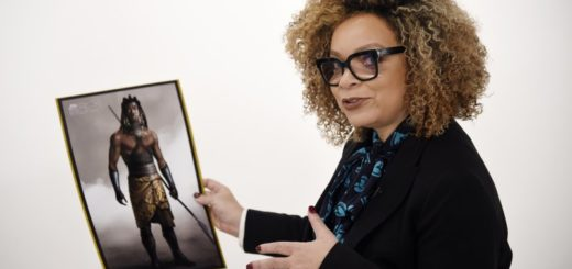 Ruth E. Carter with Black Panther designs