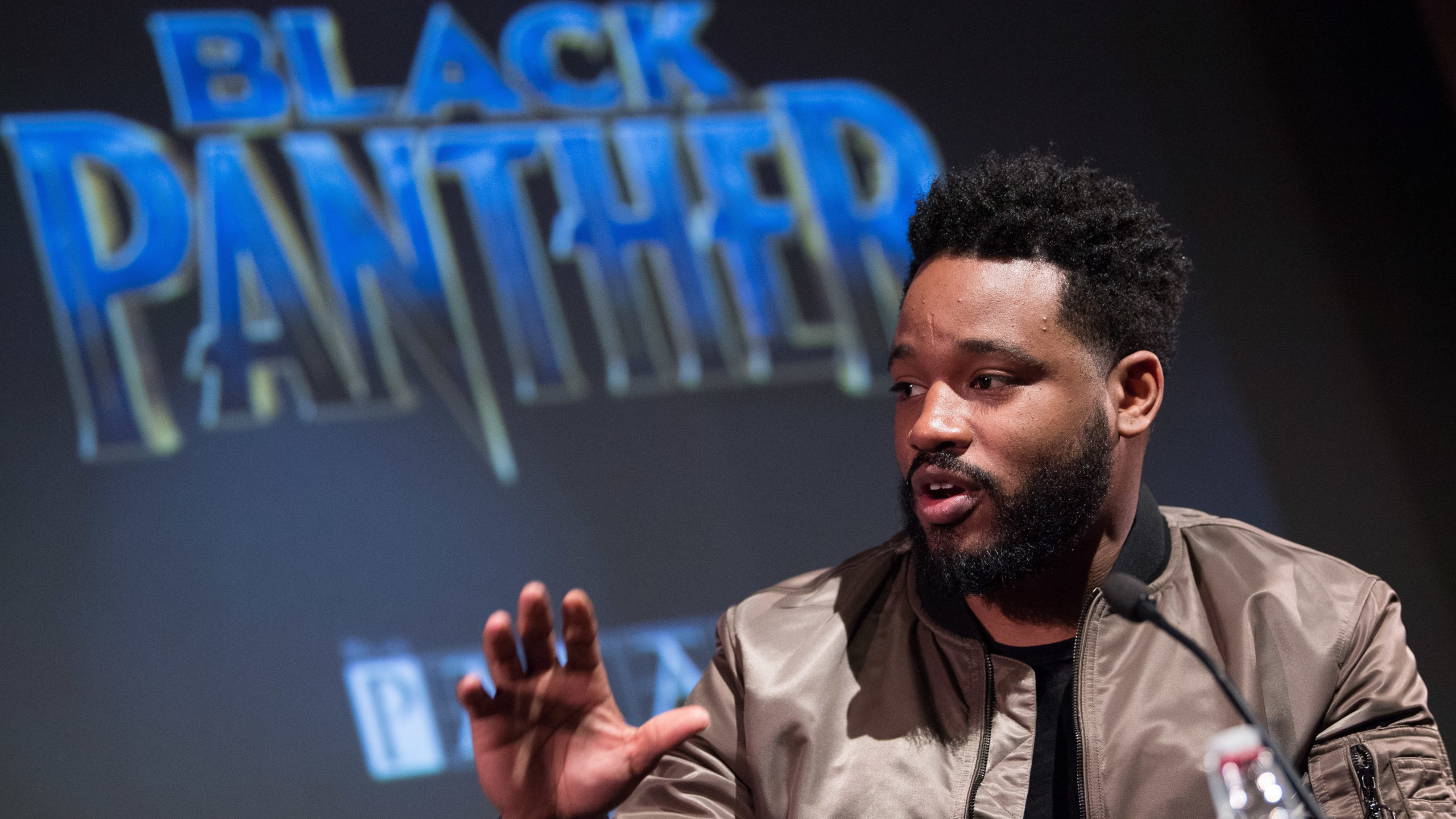 Ryan Coogler at Black Panther preview