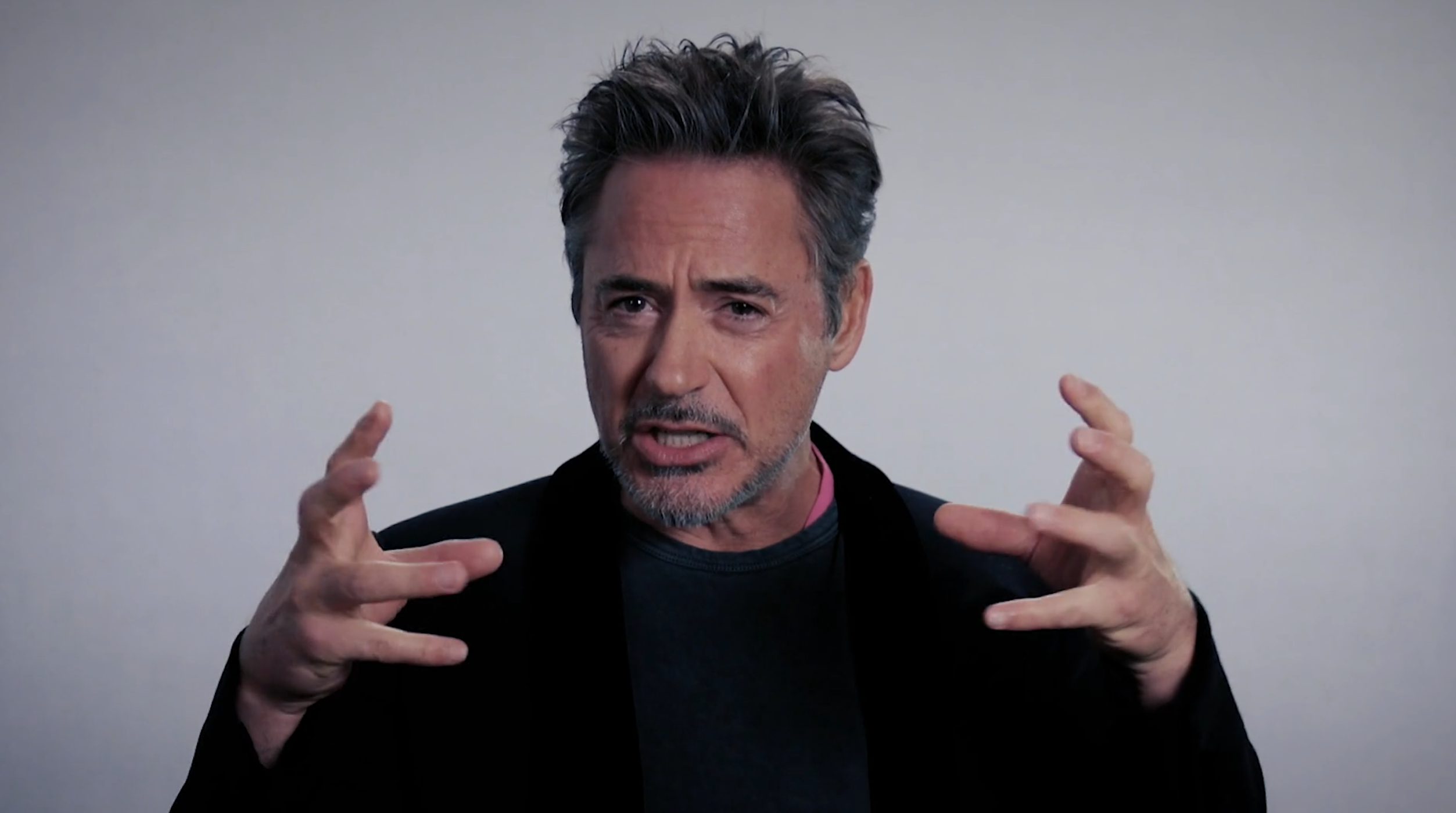 Robert Downey Jr speaks about FootPrint Coalition