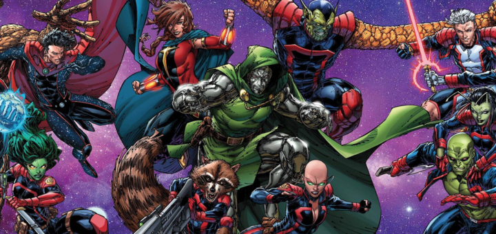 Guardians of the Galaxy with Dr. Doom
