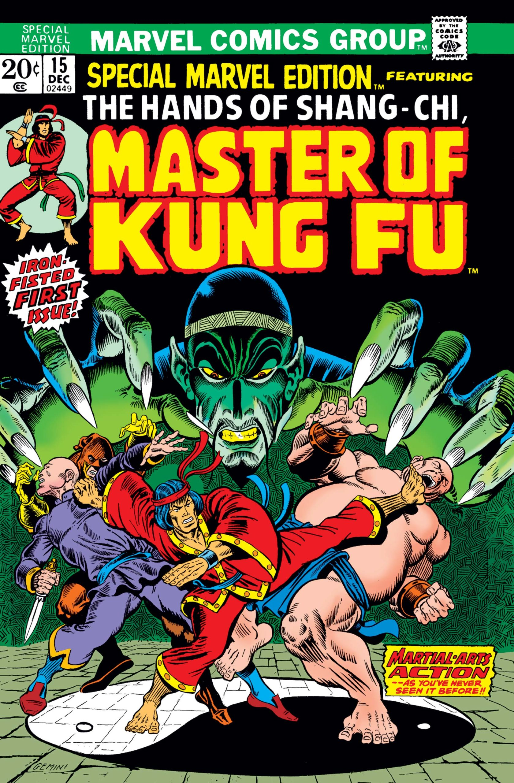 Special Marvel Edition #15 Shang-Chi First Appearance