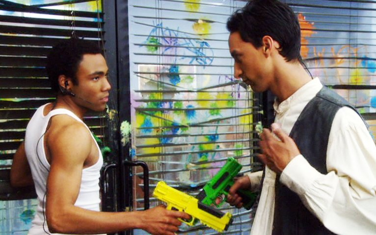 Troy and Abed in a Star War