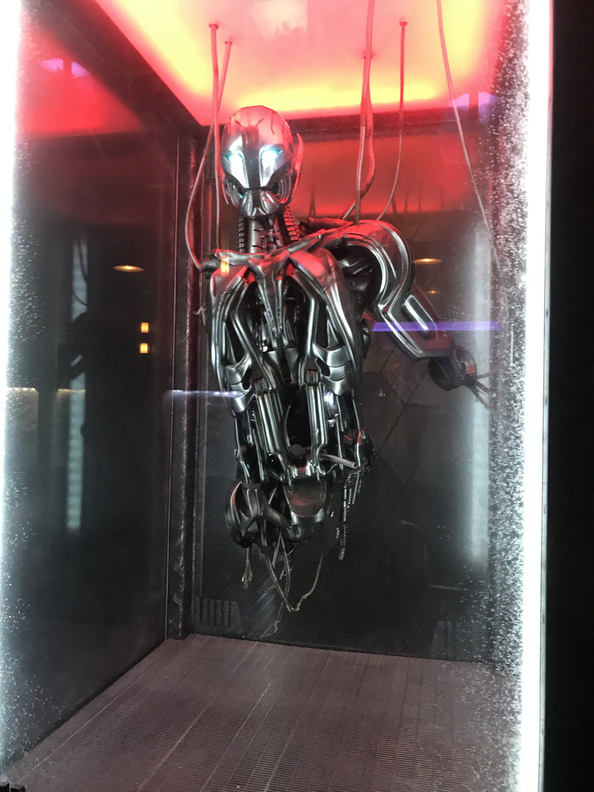 Ultron at Mission Breakout