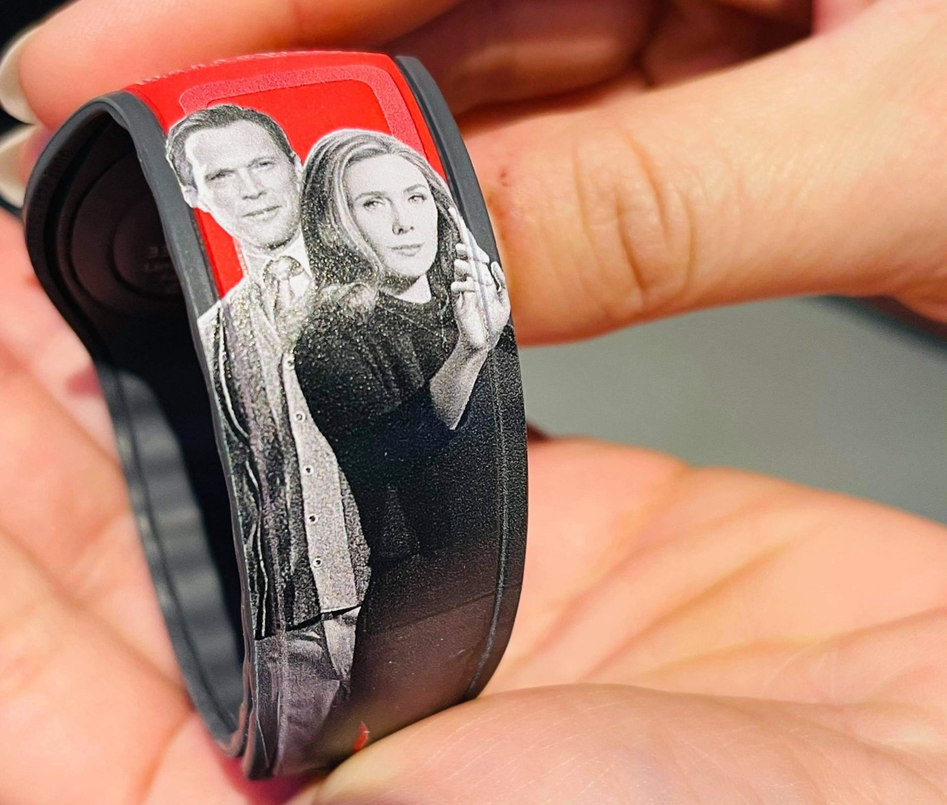 wanda and vision on new exclusive limited edition magicband