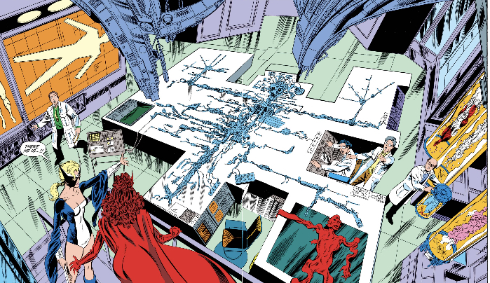 Wanda sees dismanteled Vision