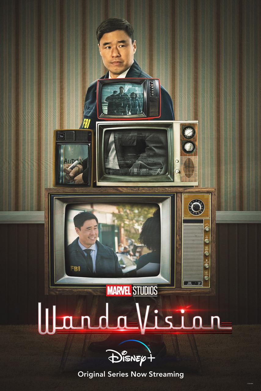 WandaVision Agent Jimmy Woo Poster