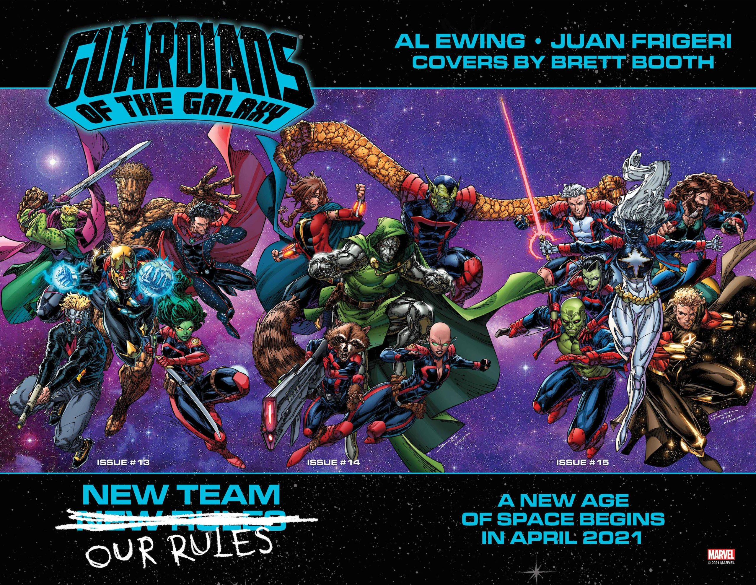 Guardians of the Galaxy #13 Promo Art