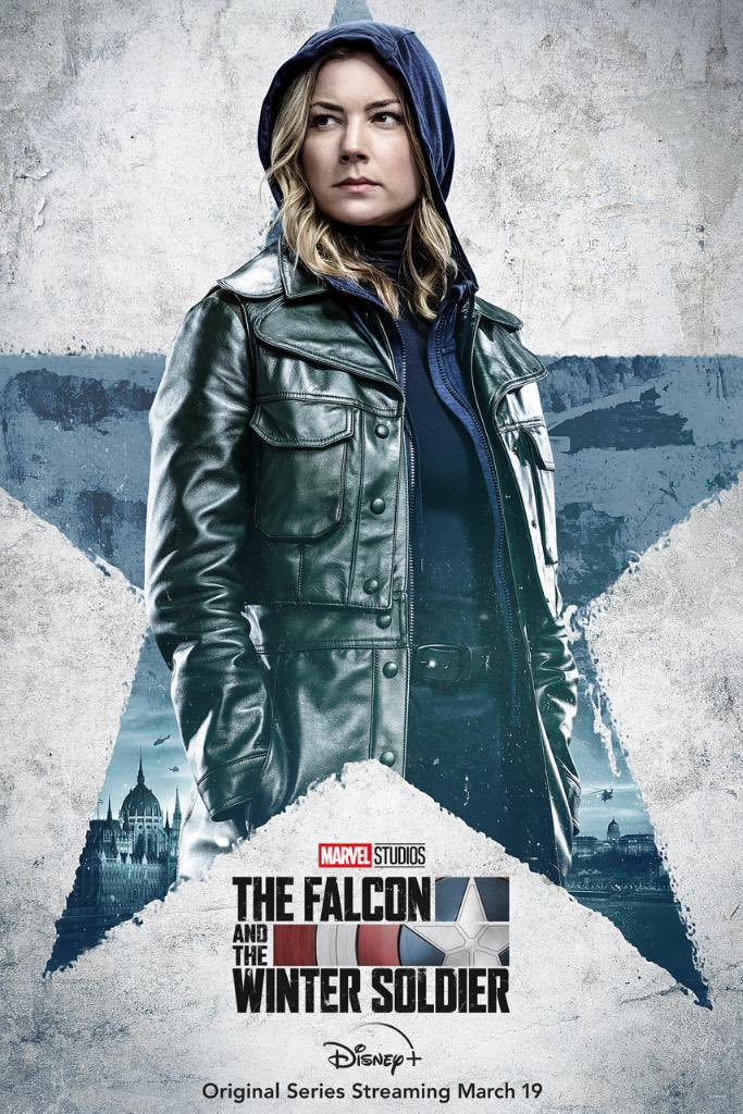 Agent 13 for The Falcon and the Winter Soldier poster