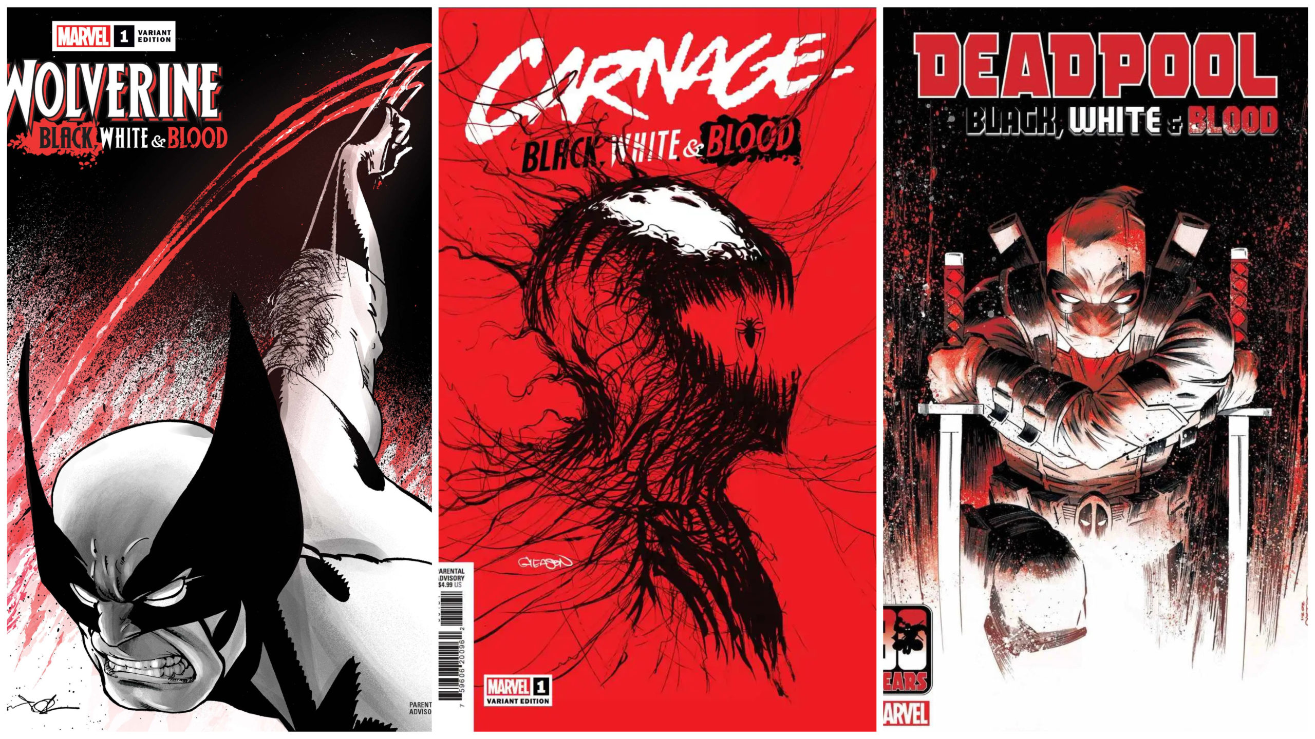 Black, White, and Blood Covers