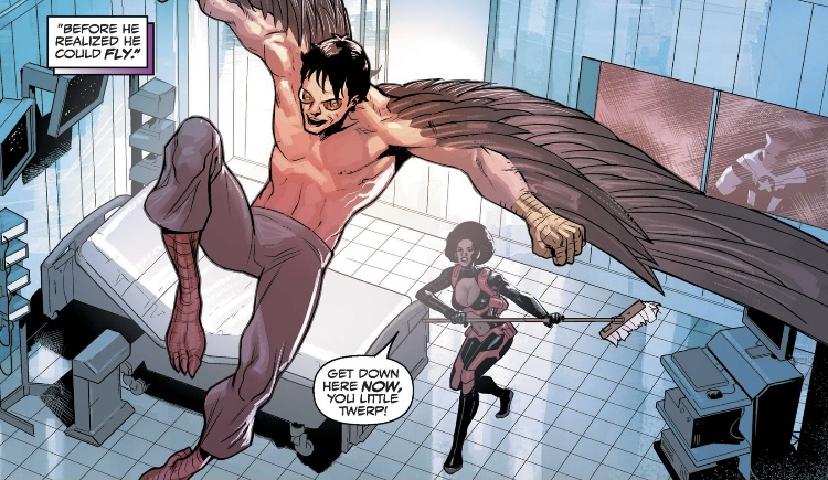 Panel from New Falcon