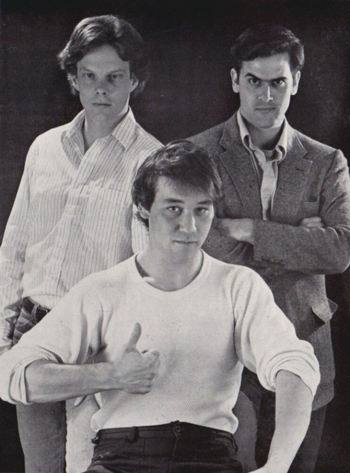 Rob Tapert, Sam Raimi, and Bruce Campbell in the early days
