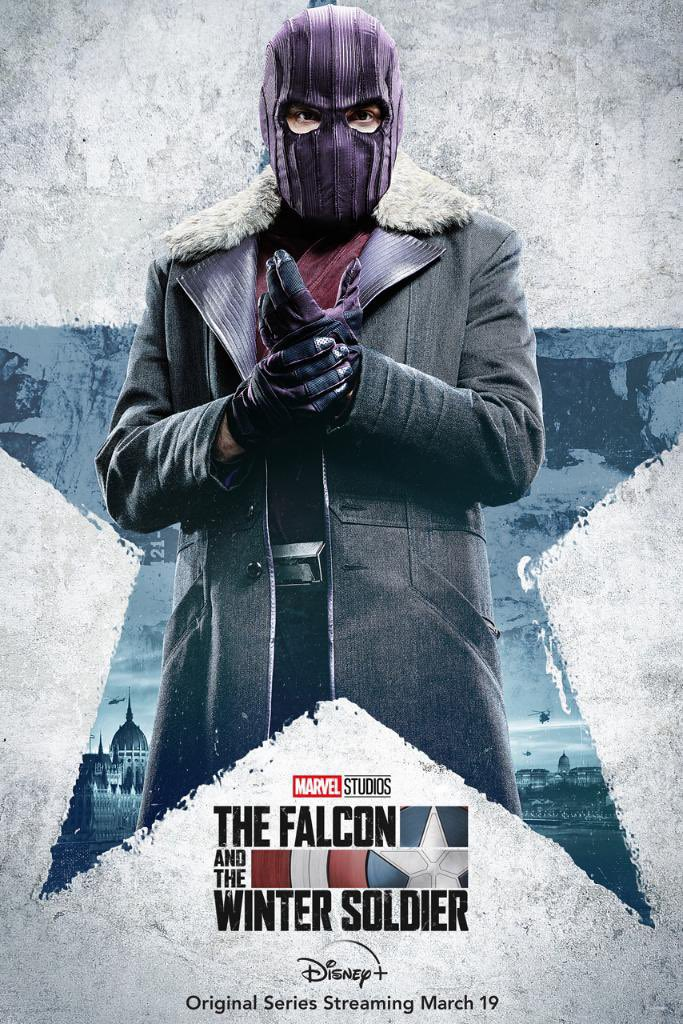 Zemo for The Falcon and the WInter Soldier poster