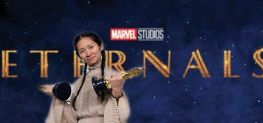 Chloé Zhao's Eternals Cover