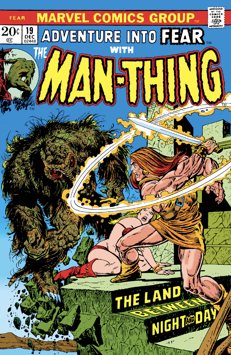 Adventure into Fear with Man-Thing