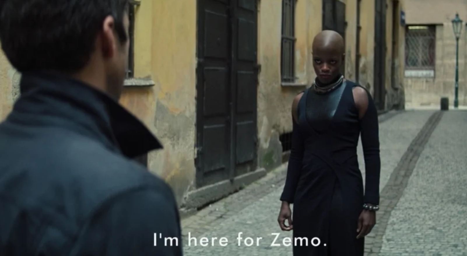 Ayo I'm here for Zemo