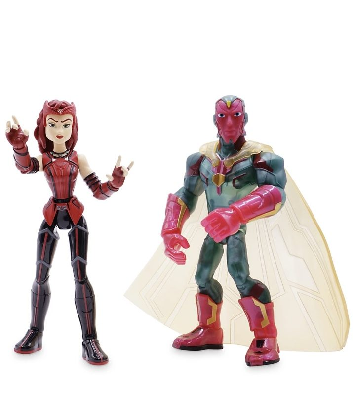 Toybox Scarlet Witch and Vision