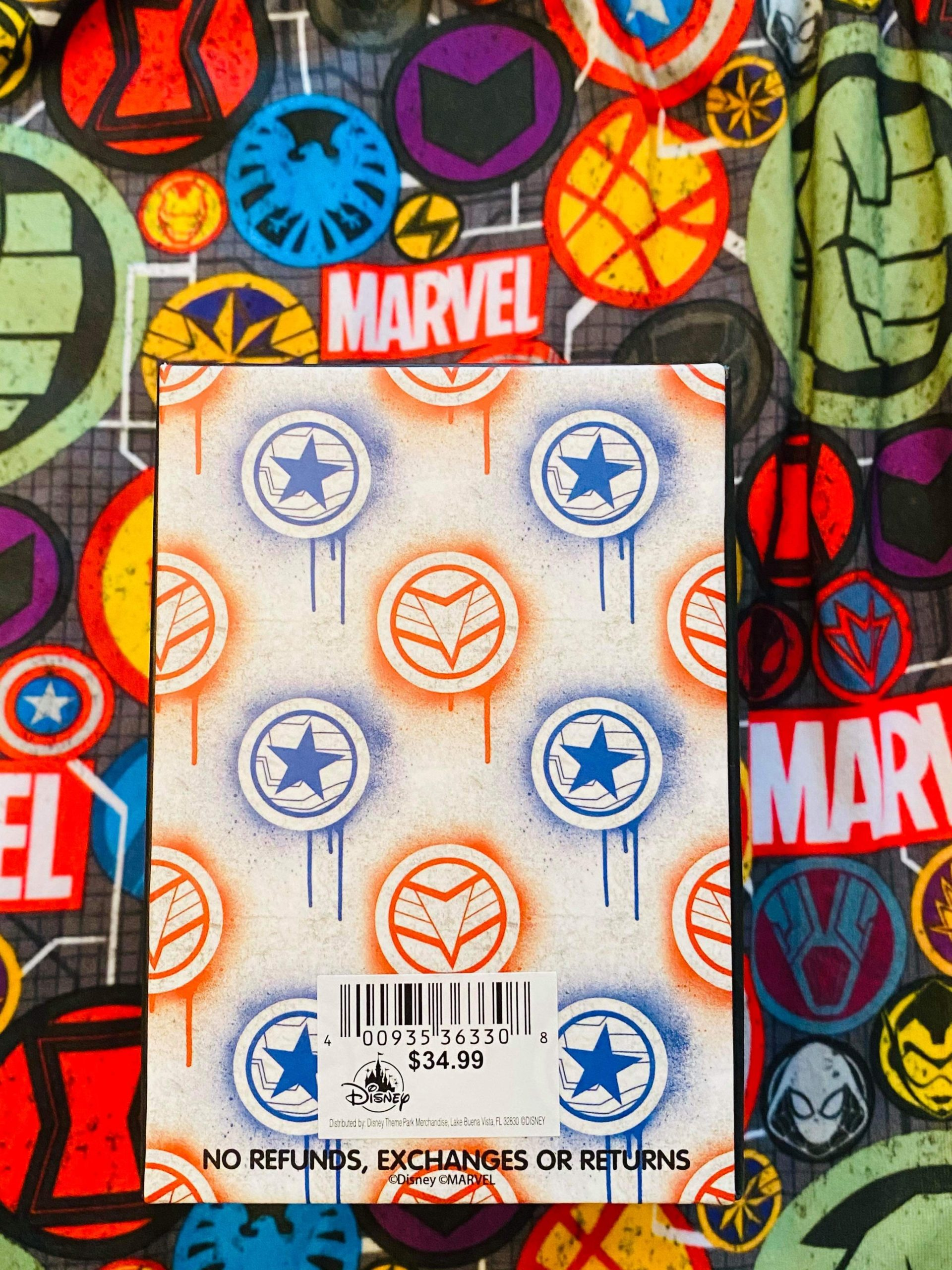 The Falcon and the Winter Soldier MagicBand Box