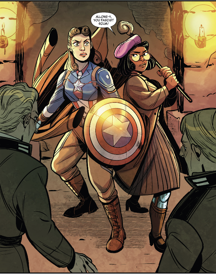 Peggy Carter and Liliane