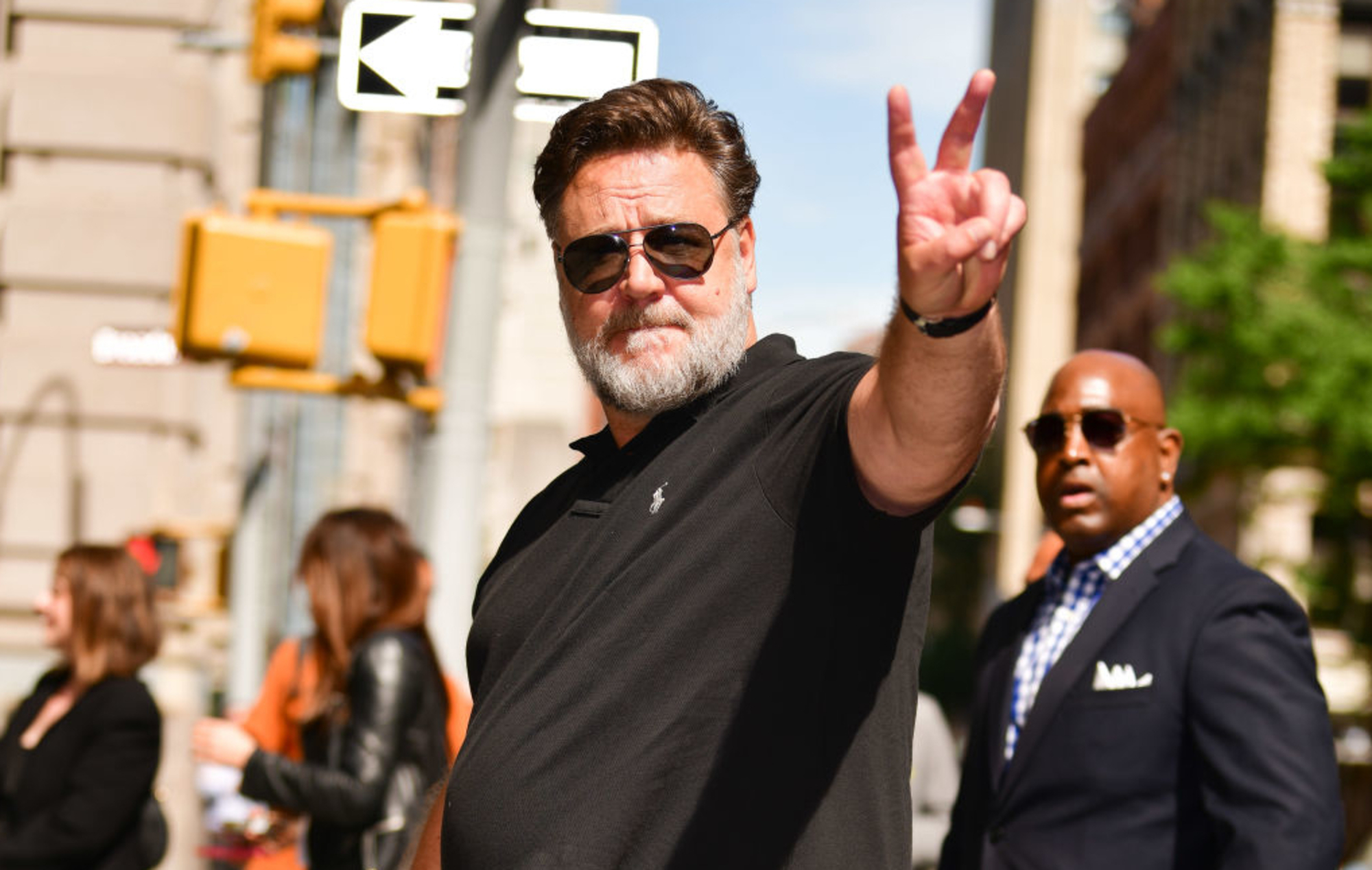 Russell Crowe will be Zeus