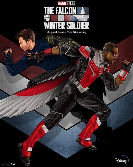 Salvador Anguiano The Falcon and the Winter Soldier Poster