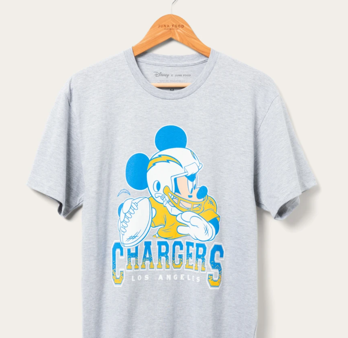 Mickey Mouse NFL Chargers
