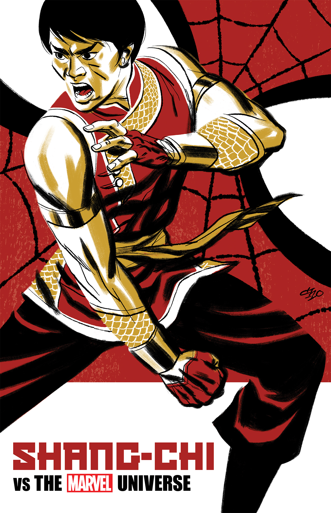 Shang-Chi vs the Marvel Universe Michael Cho variant