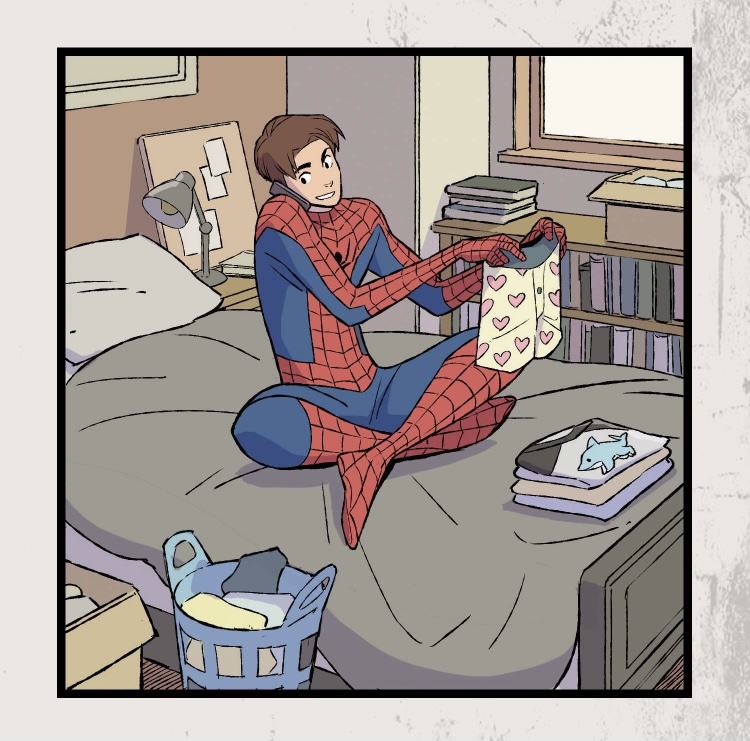 Spider-Man Heroes At Home