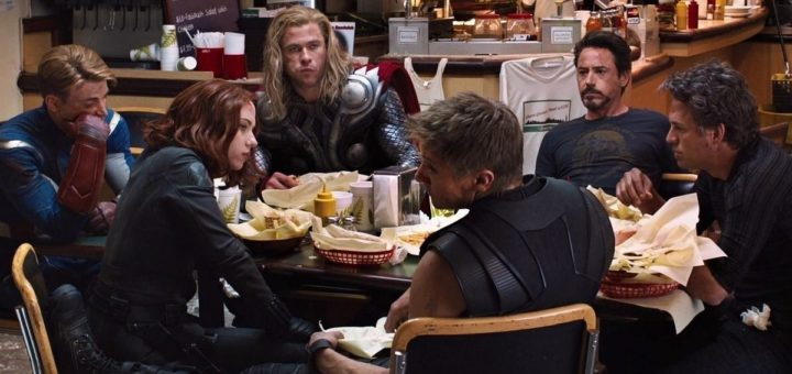 The Avengers Schwarma After