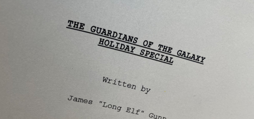 The Guardians of the Galaxy Holiday Special Cover