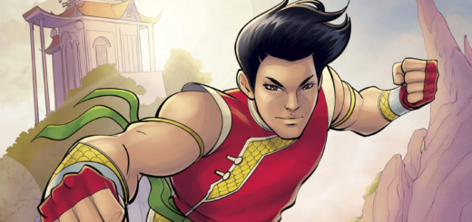 This is Shang-Chi Cover photo