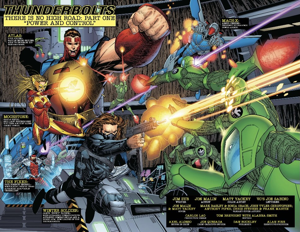 Thunderbolts by Zub