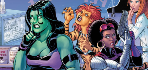 Women of Marvel #1 Review Cover