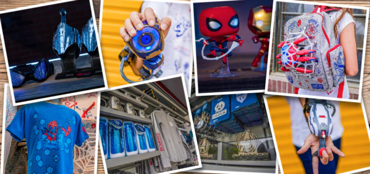 Avengers Campus Photo Collage Merch
