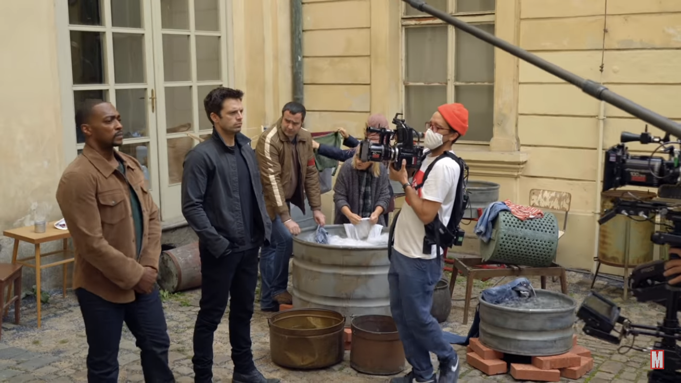 COVID filming for Falcon and Winter Soldier