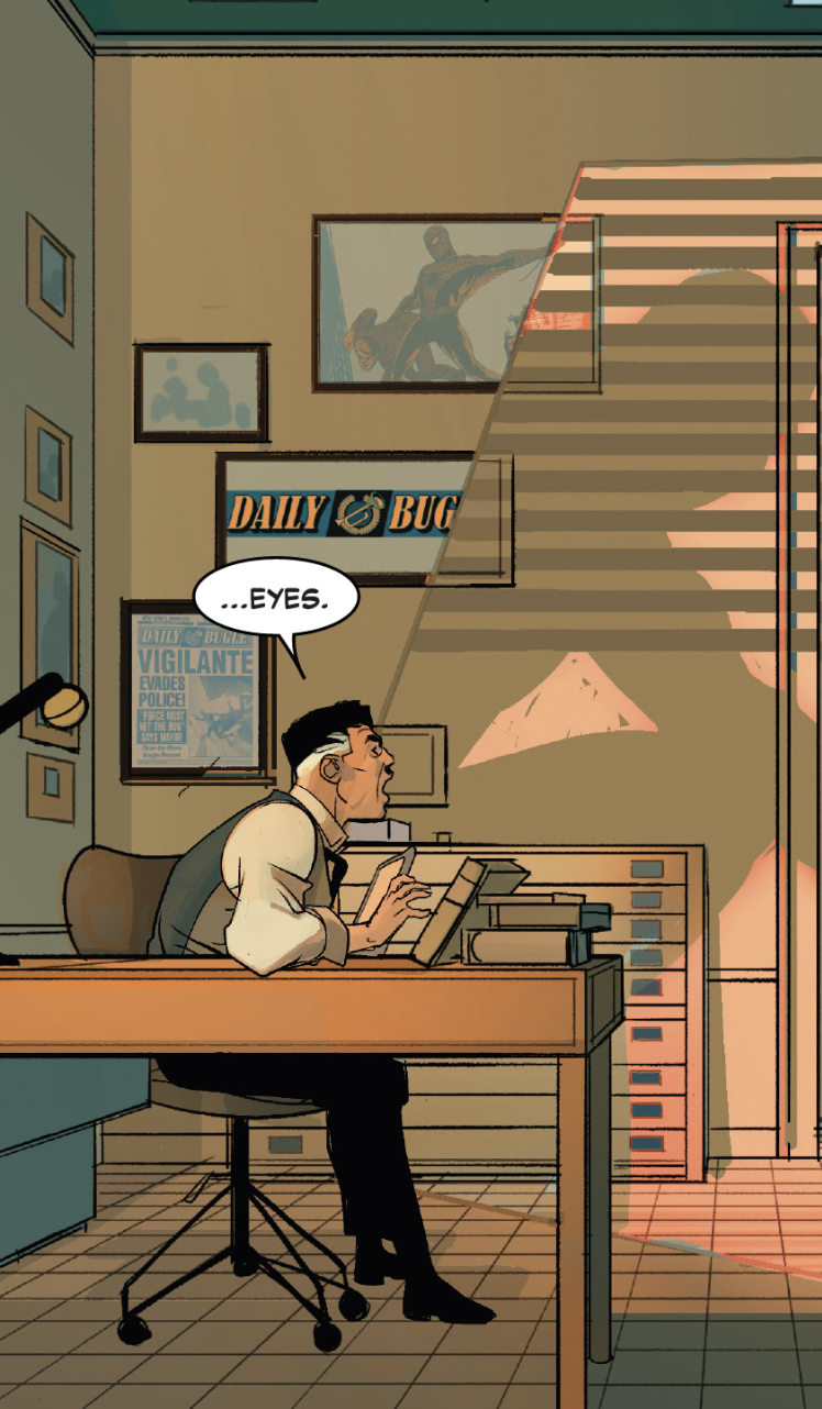 Daily Bugle in Spider-Man: Spider's Shadow #2