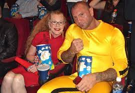 Dave Bautista and Mom