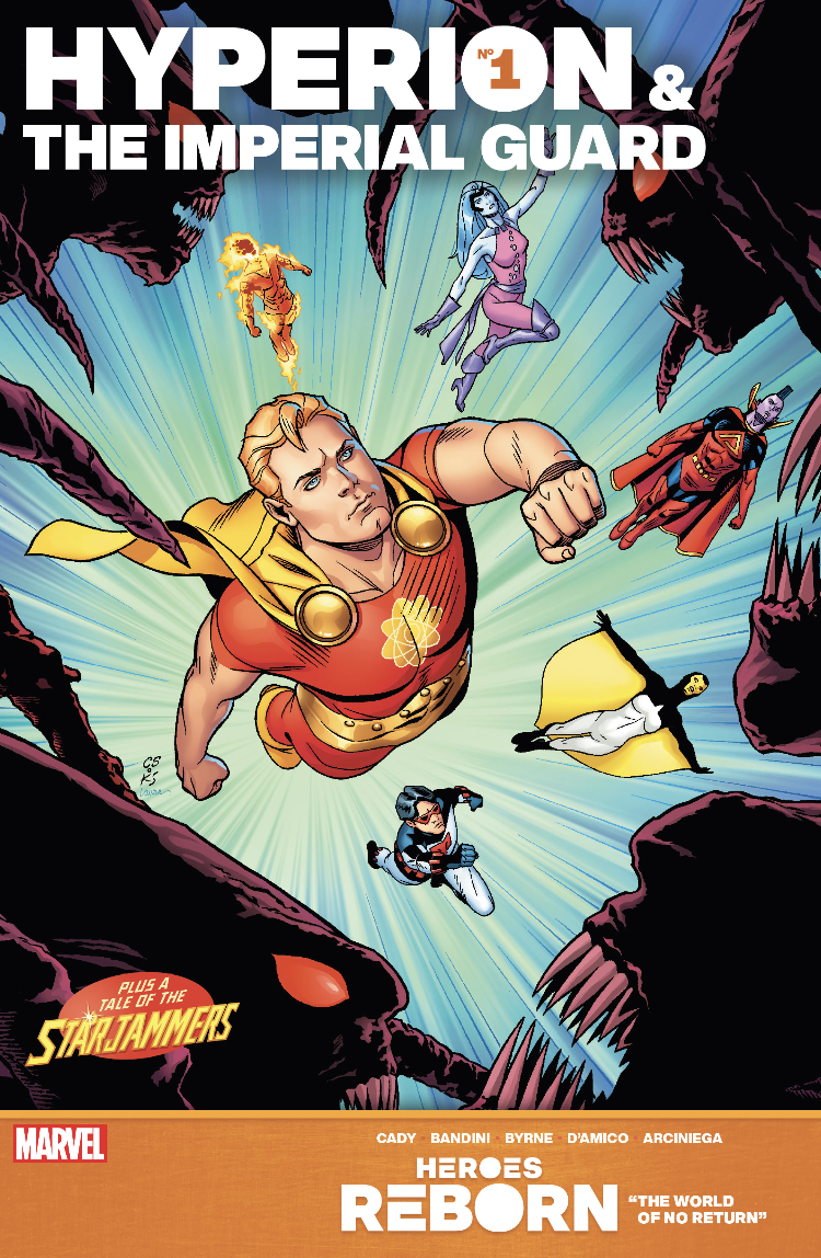 Hyperion & the Imperial Guard #1