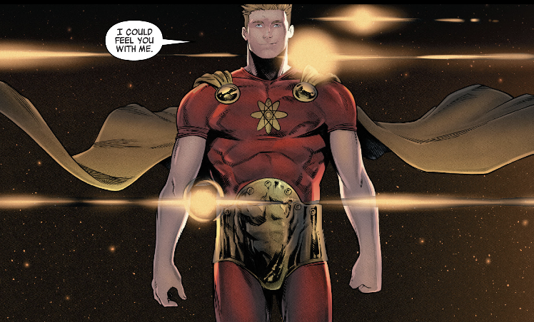 I could feel you with me Hyperion & The Imperial Guard #1