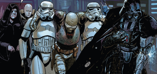 Vader and the Emperor in Darth Vader #12