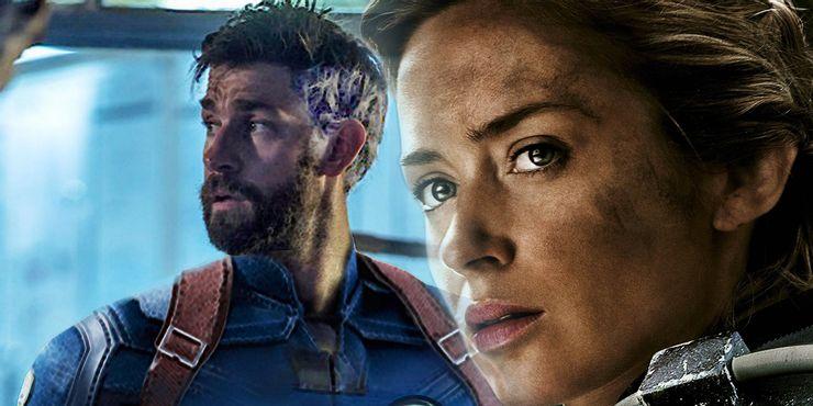John Krasinski Emily Blunt Fantastic Four