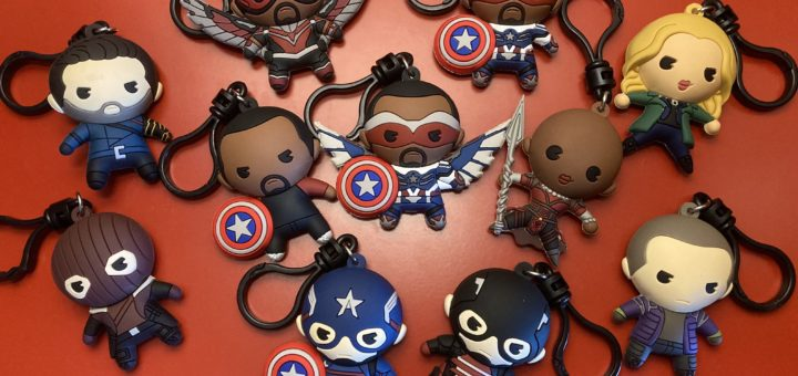Monogram The Falcon and the Winter Soldier Bag Clips