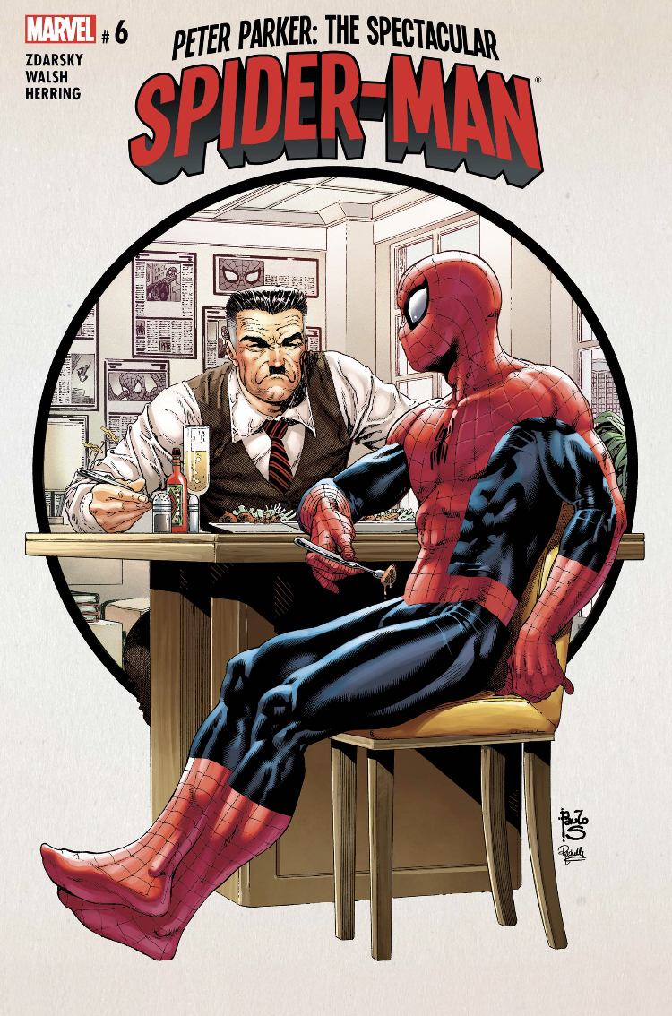 Peter Parker: The Spectacular Spider-Man #6 Cover Art