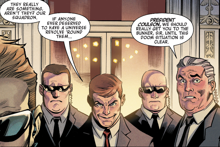 Evil Phil Coulson