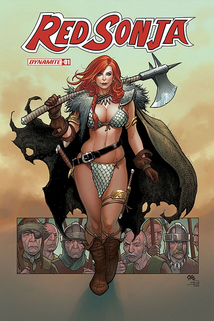 Red Sonja Mark Russell
